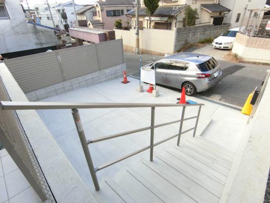 駐車2台可駐車場
