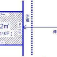 土地図面(間取)