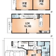 参考プラン 土地+建物2,980万円 (間取)